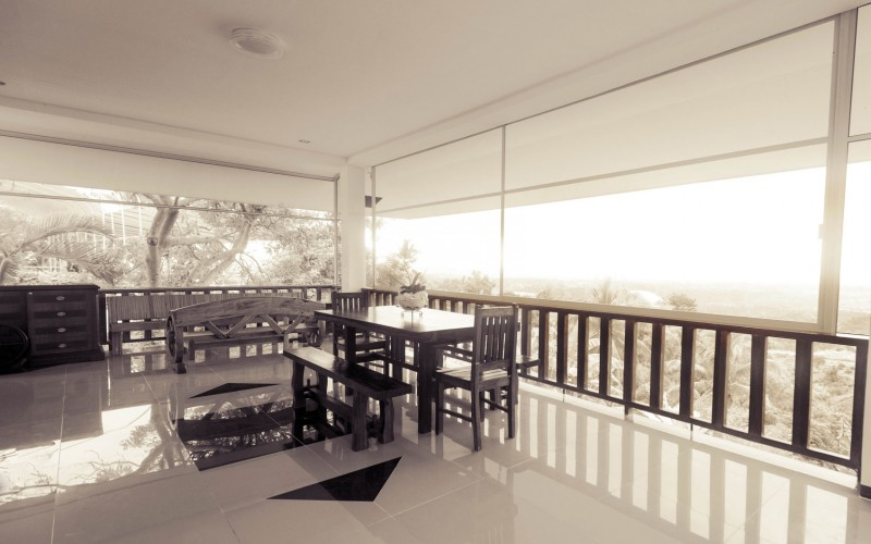 Private Veranda of Villa Image